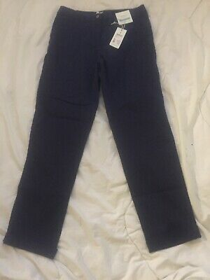 BNWT Joules Hesford Chino Trousers UK 12 Navy