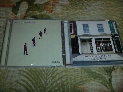 Lot 2 Cd Sealed Alt Rock Country Mumford & Sons Delta Sigh No More Alternative
