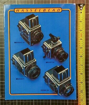 Hasselblad Brochure (cameras and accessories )