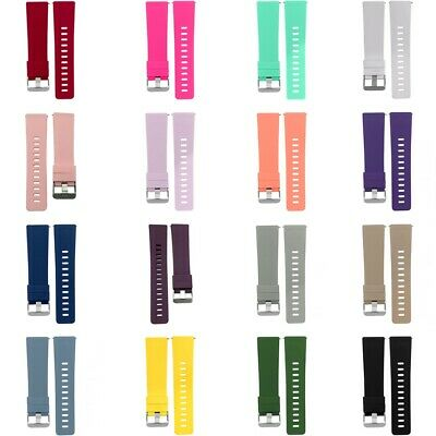 Replacement Silicone Bands Strap Wristband For Fitbit Versa Lite/Versa 2/Versa