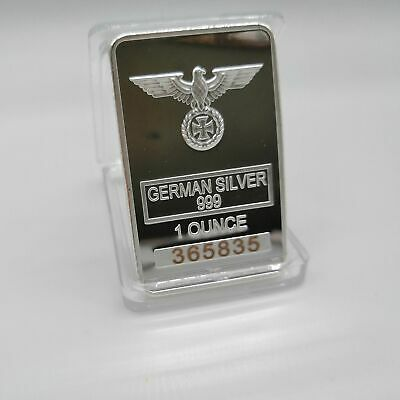 German coin collection Eagle coin GERMAN WW2 IRON CROSS OF SILVER BAR Different