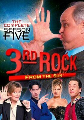 3RD ROCK FROM THE SUN SEASON 5 New Sealed 3 DVD Set