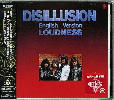 Loudness-Disillusion English Version-Japan Cd C94