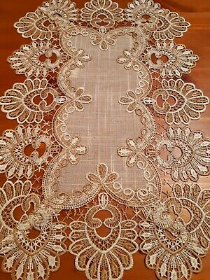 (Set Of 4) 30cm*45cm(Linen Colour)Polyester Linen/Look Placemats
