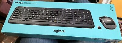 *BOX ONLY* Logitech MK360 Compact And Slim Wireless Combo *BOX ONLY*