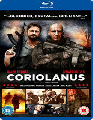 Coriolanus Blu-Ray [Uk] New Bluray