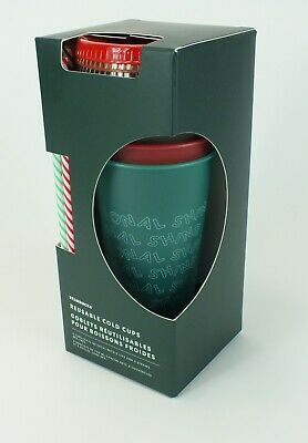 Brand New & Sealed - 2019 Starbucks Holiday Reusable Cold Cups Travel Tumblers