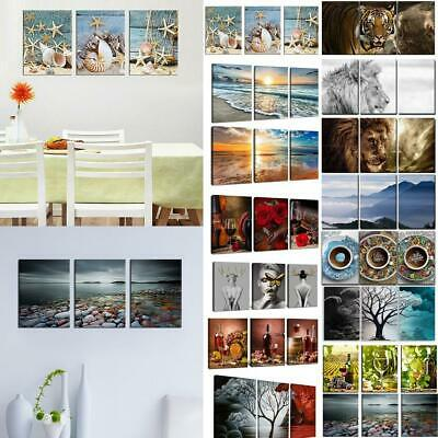 Modern Canvas Painting Living Room Bedroom Art Home Wall Decor No Frame EH7E