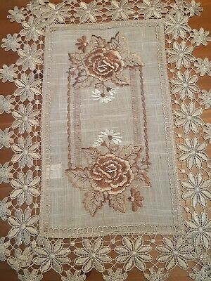 (Set Of 4) 30cm*45cm(Linen/Chocolate)Polyester Linen/Look Placemats
