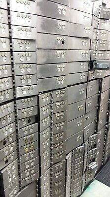 Stainless Bank Safety Deposit Boxes