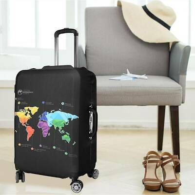 "22-32"" Travel Luggage Protective Suitcase Bag Cover Dustproof Protector AU"