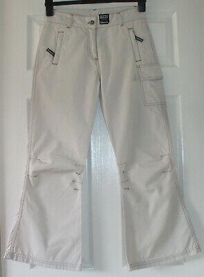 Girls stone coloured cotton trousers from Bench, age 13/14 years – BNWT