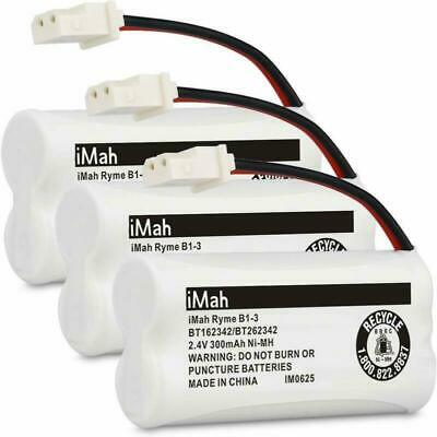 iMah Ryme B1-3 BT162342 BT262342 Cordless Phone Batteries Compatible with VTech