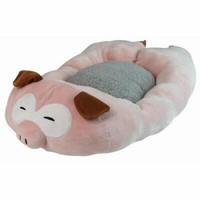 Croci Fluffy Relax Pig Pet Bed 75 Cm