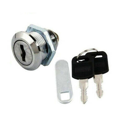 Small Stainless Steel Mail Box Lock with 2 Keys Mailbox Mail Letter Box Security
