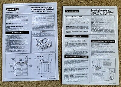 Rayburn Nouvelle Installation & Operating Instructions
