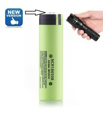 Genuine Samsung IMR 18650 30Q 3000mAh Button Top Battery For Doorbell & Torch