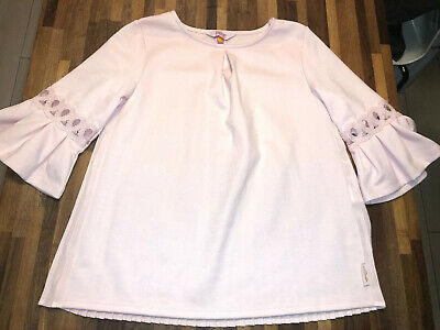 Ted Baker Stunning Girls Baby Pink Top age 7 Immaculate Condition