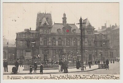 Antique Postcard General Post Office Bradford Posted 1904 Lovely old Card