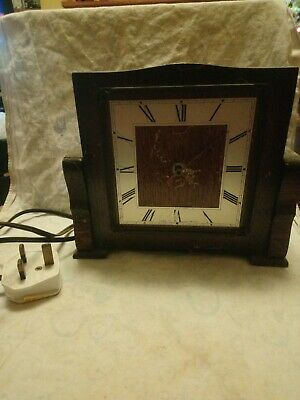 Old Smiths Sectric Clock For Spares Or Repairs