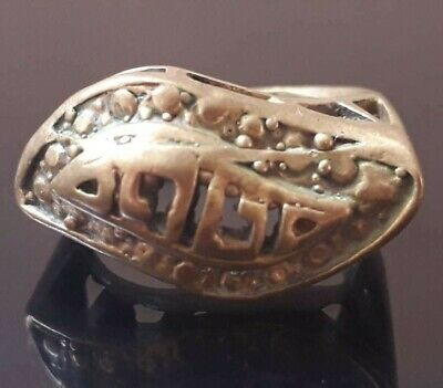 Amulet Viking Ring Antique Ornament Odin Pendant Very Rare Stunning Quality