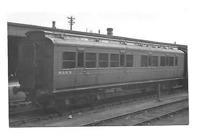 M & GNR, Midland & Great Northern Railway Photograph. Coach No 8101. LGRP