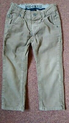 Boys Corduroy Trousers Age 4 Yrs From Next With Adjustable Waist Hardly worn