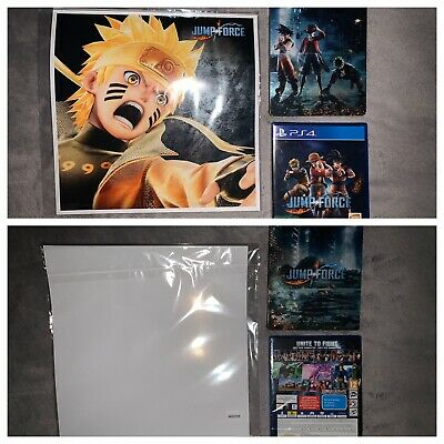 Jump Force Collector's Edition Steelbook PS4 + Regular version + limited Artwork