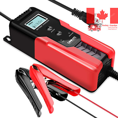Battery Charger And Maintainer w/ Intelligent Detection Multiple Safety Function