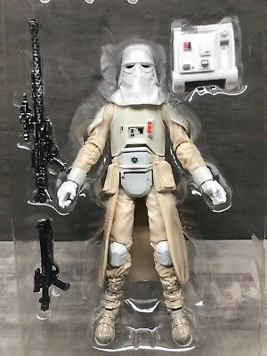 "Star Wars The Black Series 35 Imperial Hoth Snowtrooper 6"" Scale Loose"