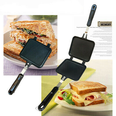 Sandwich Toaster Toastie Maker Grill Breakfast Stove Toaster Cook Panini Camping