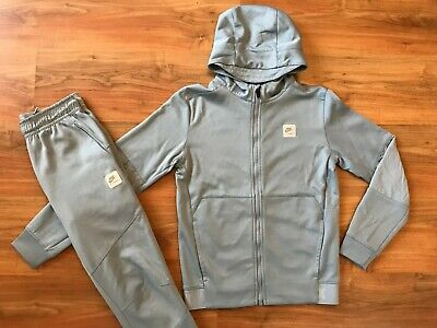 Boys GREY SKINNY NIKE AIR MAX TRACKSUIT TOP & BOTTOMS (age12-13) *L@@K 99p*