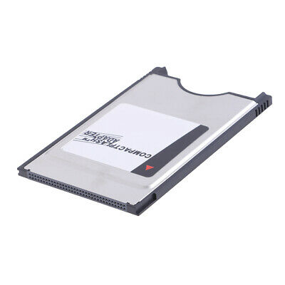 Compact Flash CF to PC Card PCMCIA Adapter Cards Reader for Notebook Lap bw