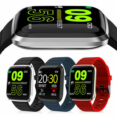 Fitness Tracker Smart Watch Bracelet Wristband Blood Pressure Heart Rate Monitor