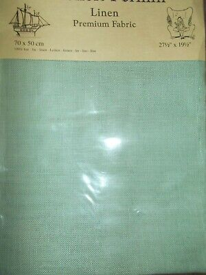 "Cross stitch Fabric Linen ""Rosemary"" New by Permin 28ct   27.5"" x 19.5"""