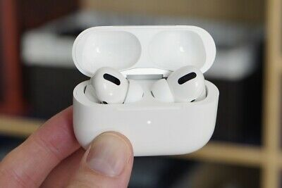 Apple AirPods Pro Used With Charging Case - White