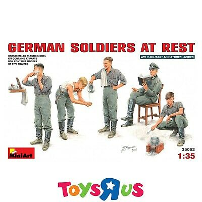 MiniArt 35062 1/35 German Soldiers At Rest Model Kit