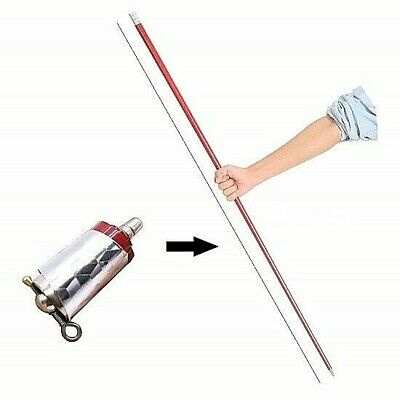 APPEARING CANE BLACK METAL PROFESSIONAL MAGIC TRICK LOW PRICE GREAT QUALITY!