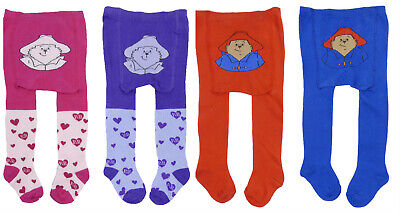 Paddington Bear Two Pack Of Tights Two Different Colours LAST FEW SALE PRICE