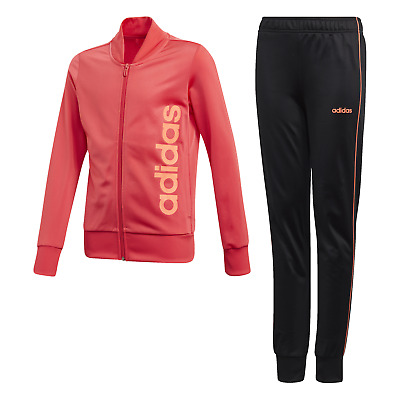 Adidas Performance Girl Tracksuit Polyester Tracksuit Core Pink