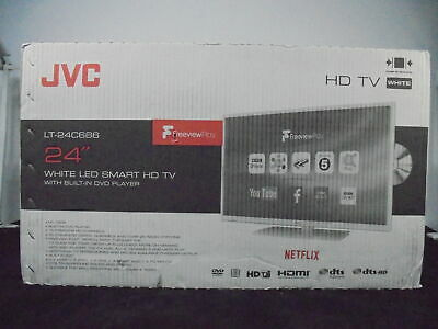 """JVC LT-24C686 24"""" Smart LED TV with Built-in DVD Player  Currys DAMAGED BOX"""