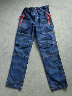 Mini Boden Boys Lined Skate Navy Blue Trousers Age 10 Years