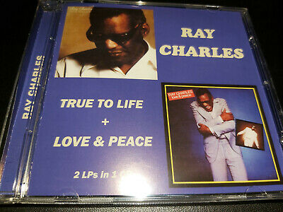 Ray Charles - True To Life / Love & Peace CD 2 ALBUMS ON 1CD