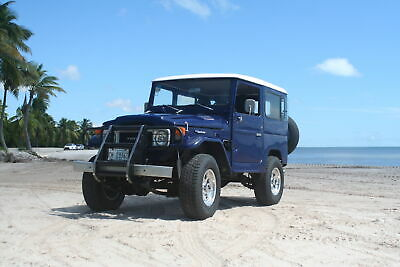 1980 Toyota Land Cruiser  FJ40 - Diesel BJ40 - Frame Off Restoration - 4 Spd - Clean FL Title - NO RESERVE