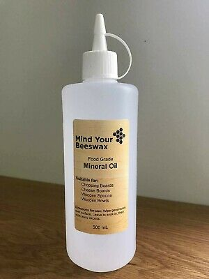 Food Grade Mineral Oil - 500 mL - The Best for Cutting Boards