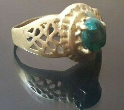 Very Rare Wedding Ring Viking Nordic Jewelry Unique Old Quality Bronze Artifact