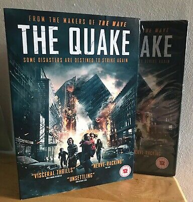 The Quake DVD ACCLAIMED DISASTER EPIC! LIMITED SLIPCASE! NEW & SEALED RRP £17.99