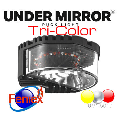 New FENIEX PUCK Under Mirror 18 LED-Tricolor RED/WHITE/AMBER UM-5019T