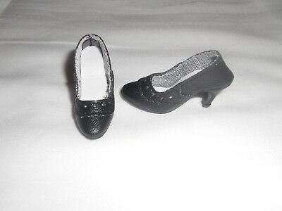 DOLL Shoes Bow Pumps in NAVY fit Ellowyne and High Heel Marley