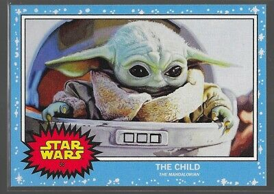 Topps Star Wars Living Set The Child Baby Yoda /9663 Mandalorian